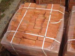 The brick is ceramic construction: M75, M100