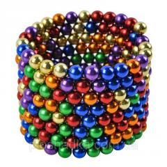 Неокуб NeoCube Радуга Разноцветны 5мм 216 шариков