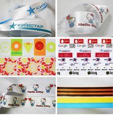 Decorative satin ribbons