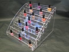 Displays for cosmetics