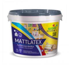 Інтер'єрна акрилова латексна фарба миюча Mattlatex