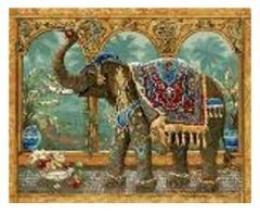 "Картина по номерам ""Слон"""