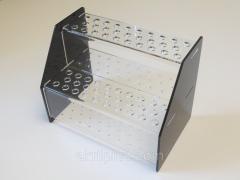 Акрилова підставка під косметичні олівці