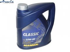 Масло моторное гидросинтетика MANNOL Classic