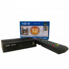 ТВ тюнер ресивер DVB-T2 MEGOGO с LCD