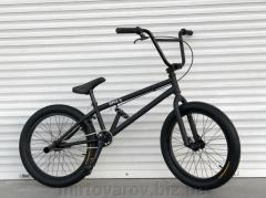 Велосипед BMX-5 20 дюймов - чёрный матовый