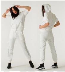 Женский спортивный костюм Sogo GL 075 белый