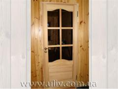 Doors from a pine interroom from the producer.