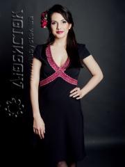 Вышитое модное платье ЖП 49-47