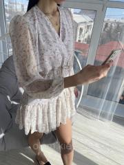 Платье женское белое размер S