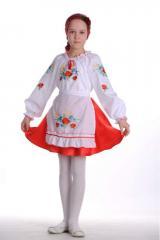 Vyshivanka Kostyum for the girl