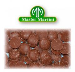 Італійський шоколад Master Martini молочний 32%.