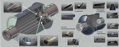 Детали для футеровок рудоразмольных мельниц
