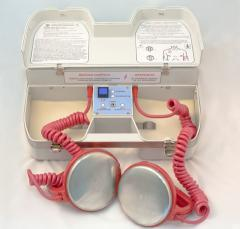 The defibrillator is transport, portable.