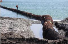 Slurry pipelines are pressure head floating