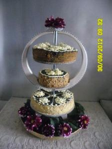 Подставки для тортов деревянные