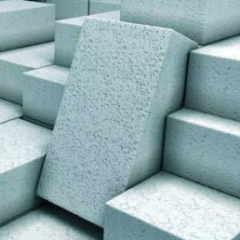 Foam concrete, foam concrete block construction