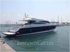 Yachts are motor, the Princess V 78 yach