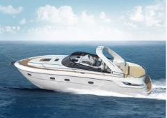 Yachts are motor, the Bavaria Sport 38 yach