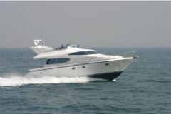 Yachts are motor, the Elegance 54 yach