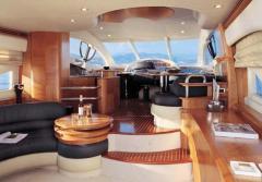 Yachts are motor, the Azimut 55E yach