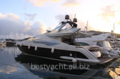 Yachts are motor, the Azimut 72S yach