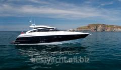 Yachts are motor, the Princess V52 yach