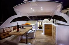 Yachts are motor, the Sessa C 38 yach