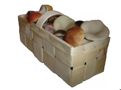 Корзинка для грибов 2кг, Иване-Пусте, Тара для
