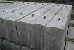 Blocks are wall reinforced concrete