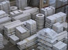 Products are reinforced concrete special
