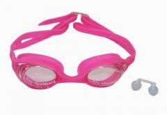 Плавательные очки взрослые с антизапотевающим