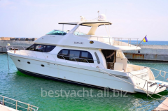 Yachts are motor, the Carver 560 Voyager yach