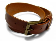 Goods haberdashery - Belts leather