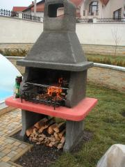 Braziers of a barbecue, the Furnace braziers, the