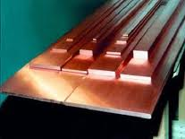 The copper tire and copper strip from
