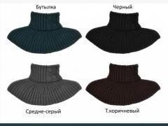 065 Шарф-хомут, шарф-манишка. Шарф горлышко Для детей и взрослых