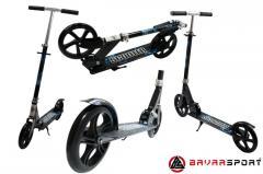 Самокат городской подростковый до 80 кг рама алюминий, колеса полиуретан 200мм самокат складной