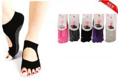 Носки для йоги без пальчиков S размер 35-38