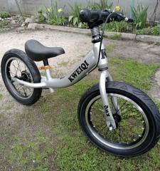 Беговел детский алюминиевый колеса 14. велобег, Баланс-велосипед