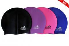 Conquest шапочка для плавания силиконовая, качественная