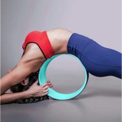 Йога колесо для спины гладкое 32х13см