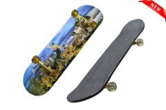 Скейтборд клен по супер цене! Деревяный скейтборд для трюков канадский клен скейт Скейт для трюков с рисунком