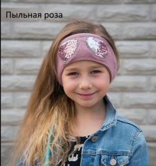 Весенняя повязка на голову Очки Пов'язка дитяча Повязка Очки для девочки
