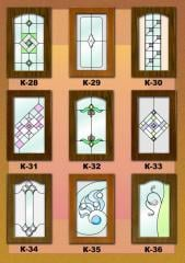 Stained-glass windows are furniture