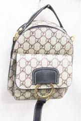 Рюкзак - сумка с рисунком 18 х 20 см цвет молочный