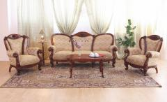 Furniture for the Elysee (Romania), soft furniture