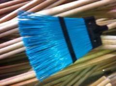 Метла пластиковая (полипропиленовая) плоская с