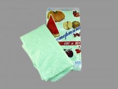 Cloths are polyethylene, the Cloth 120*200 packed