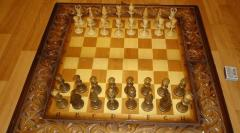 3-в одном Шахматы-Нарды-Шашки